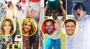 [FOTOS] Ricky Martin, Jlo y otros entran al baño helado 'Ice Bucket Challenge'