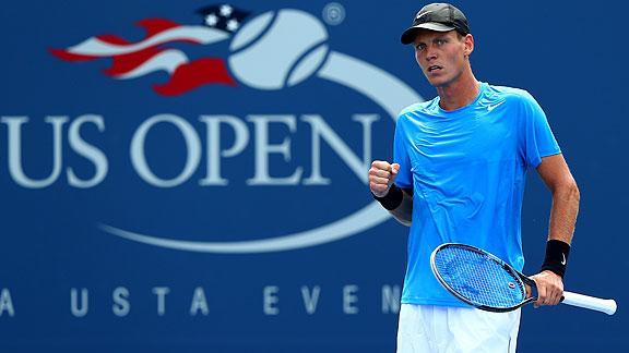 Berdych superó la primera ronda del US Open.