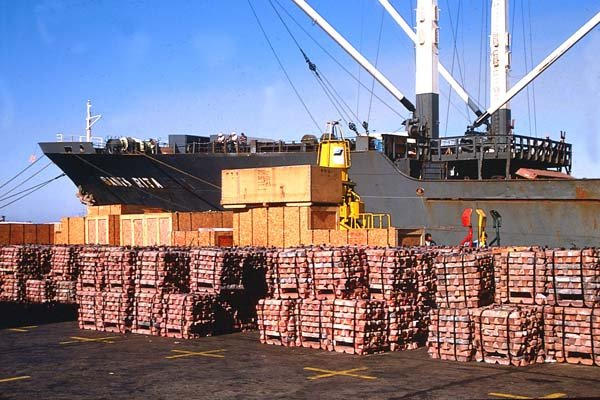 La menor demanda de productos mineros – en especial el cobre – incidió en la desaceleración de los envíos al mercado japonés.