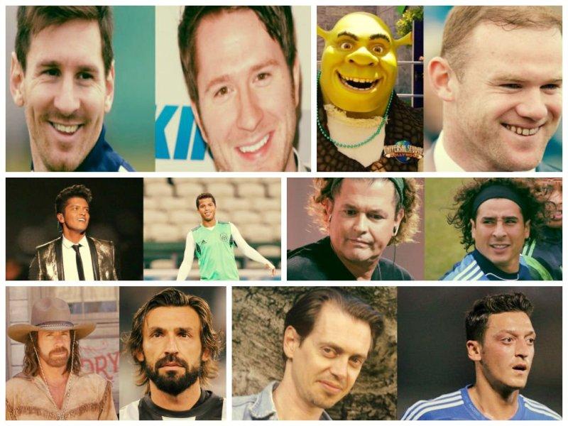 [FOTOS] Increíble: 21 futbolistas famosos y sus dobles