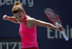 Simona Halep superó la primera fase del US Open.