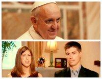 [VIDEO] Papa Francisco habló con familia de periodista decapitado por islámicos