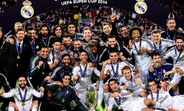 Real Madrid conquistó el primer título de la temporada 2014-15 en Europa.