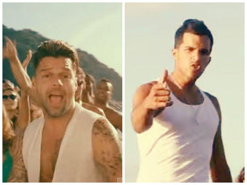 [VIDEO] Ricky Martin es acusado de plagio, mira el video que supuestamente copió