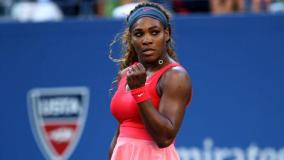 Serena Williams cumplió con creces en su debut del US Open.