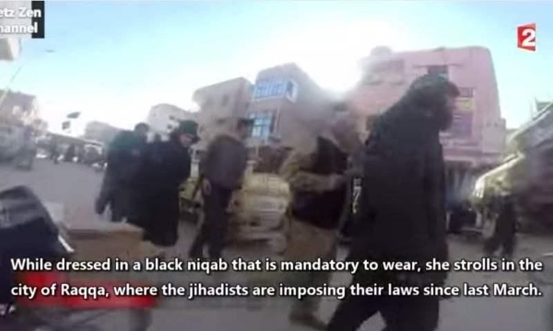 [VIDEO] Cámara oculta entra a Raqqa, la ciudad controlada por yihadistas