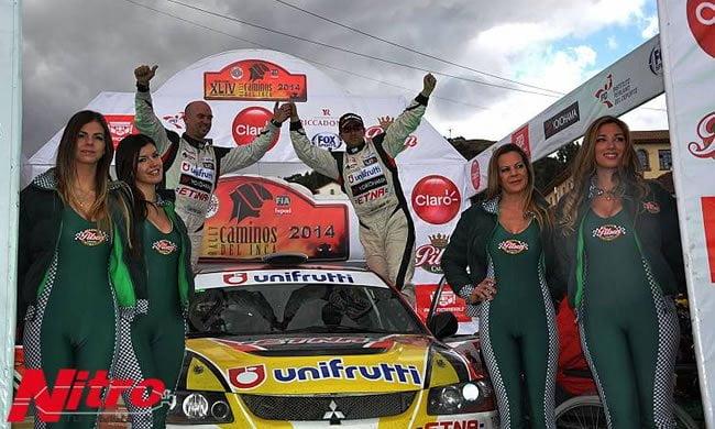José Luis Tommasini y Juan Pedro Cilloniz lideran la clasificación general de la competencia automovilística más importante del Perú.