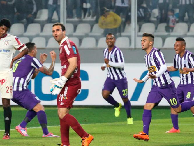 Cedrón marcó el gol que le dio el clásico y de paso la punta del Clausura a Alianza Lima.
