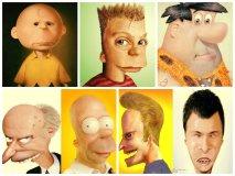 [FOTOS] Estos dibujos animados se transformaron en humanos