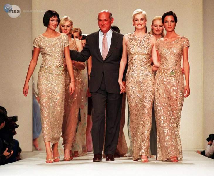 Muere Oscar de la Renta, el diseñador de modas más influyente