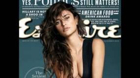 """Penélope Cruz es la """"mujer más sexy"""" en vida según la revista Esquire"""