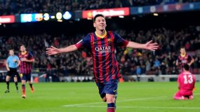 Messi hizo historia con el Barcelona al convertirse en el máximo goleador en la historia del fútbol español.