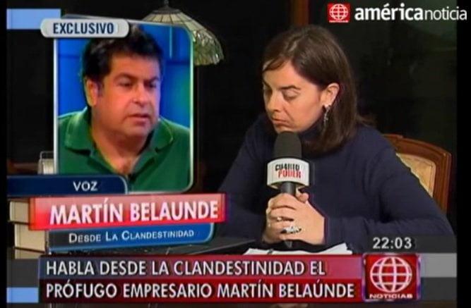 """[VIDEO] Martín Belaunde a congresistas: """"Díganme en mi cara que no me conocen"""""""