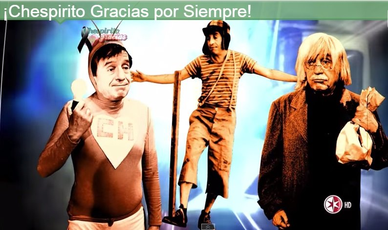 Chespirito: Mira la canción homenaje a Roberto Gómez Bolaños [VIDEO]
