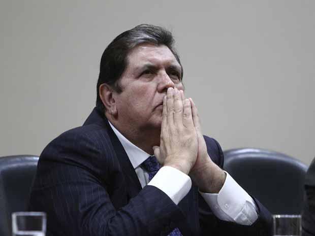 Alan García sería otra víctima de chuponeo de la DINI (Foto el Popular)