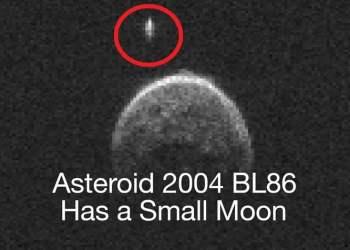 Asteroide que pasó cerca a la Tierra tiene luna propia