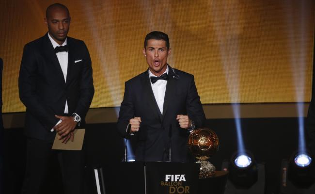 Cristiano Ronaldo obtuvo su tercer Balón de Oro.
