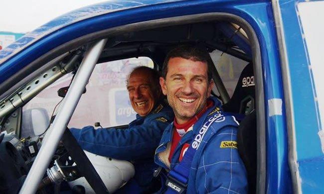 Fernando Ferrand Malatesta (padre) y Fernando Ferrand del Busto (hijo) superó a la dupla León-Hiraoka,  en la lucha de peruanos por obtener la mejor posición en el Dakar.