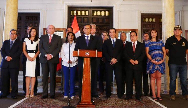"Ollanta Humala: ""Rechazo tajantemente reglaje a Marisol Espinoza"""