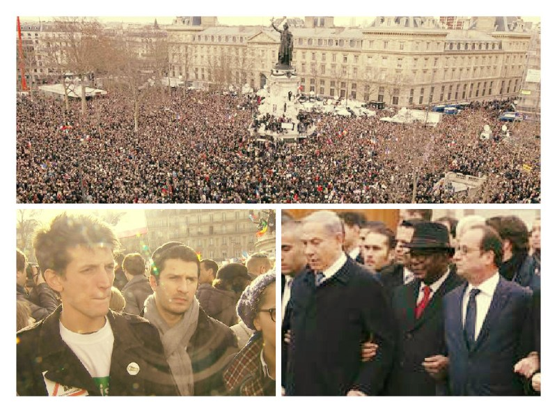 EN VIVO: Millones de franceses y líderes mundiales marchan contra el terror