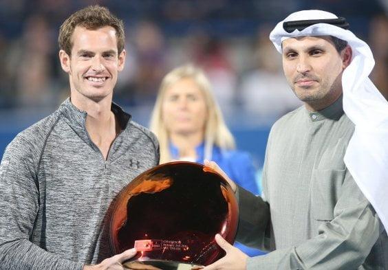 Murray levantó su primer trofeo del 2015.