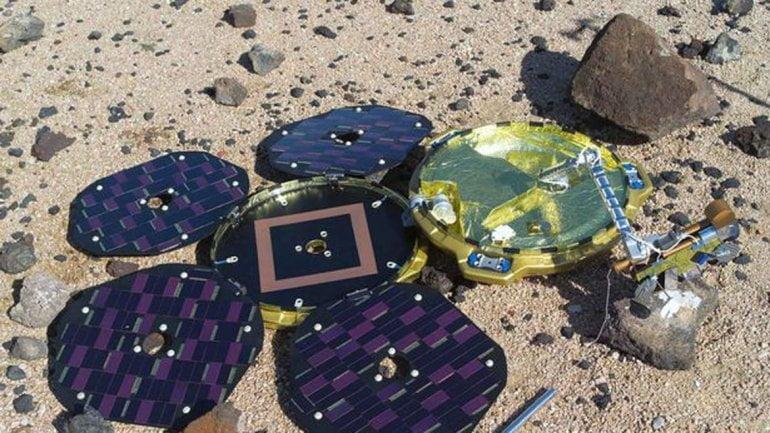 Sonda espacial perdida en Marte fue hallado 12 años después