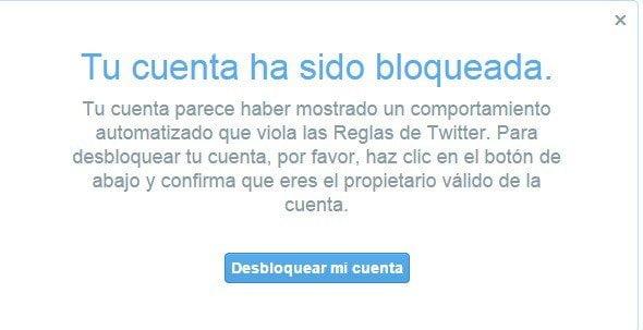 Twitter bloquea masivamente cuentas de usuarios en todo el mundo