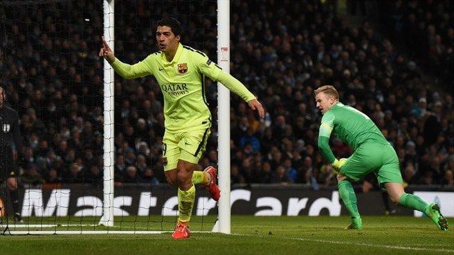 Barcelona se llevó tres puntos importantísimos de Inglaterra gracias a los goles del uruguayo Suárez.