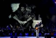 Gustavo Cerati y Pedro Aznar cantan a dúo en Viña del Mar [VIDEO]