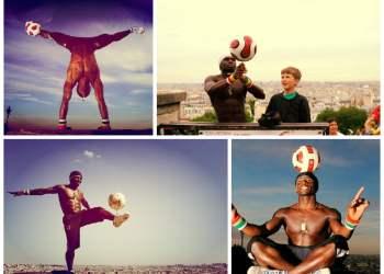 Impactante: El Malabarista del fútbol callejero que jugó en el PSG [VIDEO]