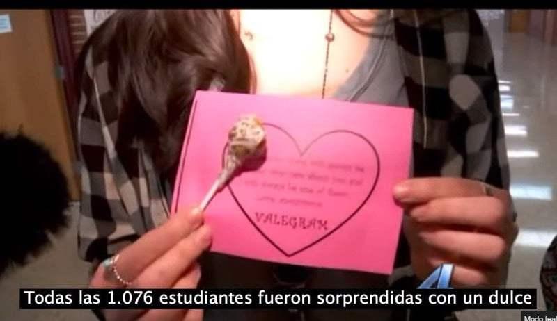 Adolescente envió regalos a las 1.076 niñas de su colegio [VIDEO]