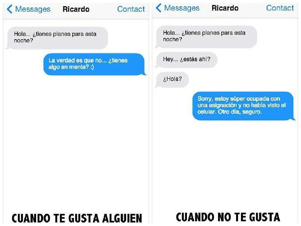 Whatsapp 11 mensajes de texto para saber si le gustas a alguien periodismo en l nea - Como saber si le gusto a un hombre casado ...