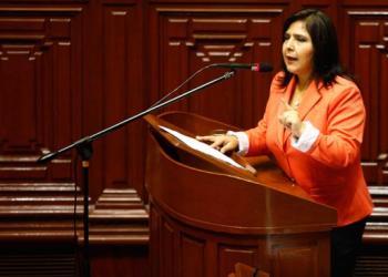 Ana Jara: Presentan moción de censura por Dinileaks
