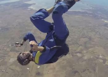 YouTube: Sufrió ataque epiléptico a 9,000 pies de altura