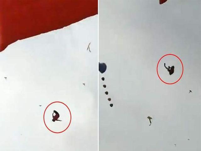 Niño se enreda en cometa y cae desde 20 metros de alto