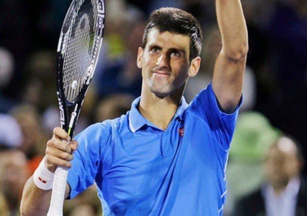 Djokovic pasó con algunos altibajos el examen ante Darcis en Miami.
