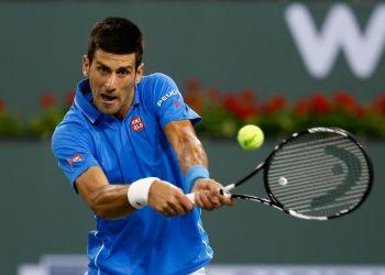 El serbio Djokovic encontró a Isner a un rival difícil.