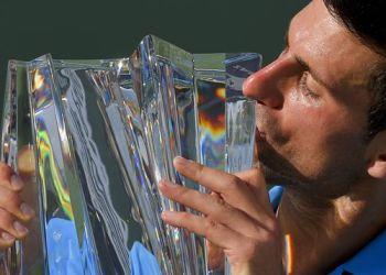 Novak Djokovic ganó su segundo torneo del año en curso (el primero fue el Abierto de Australia).