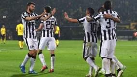 Tévez marcó dos goles en el triunfo de la Juventus.