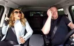 Mariah Carey en improvisado karaoke dentro de un auto