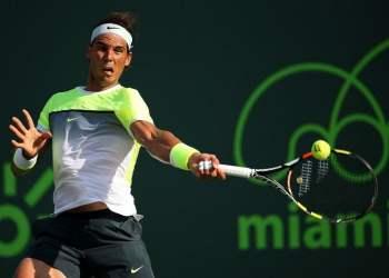 Rafael Nadal superó su primer examen en Miami.