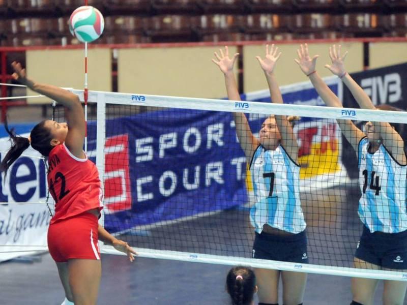La selección  nacional sub 18 impuso condiciones sobre las argentinas.
