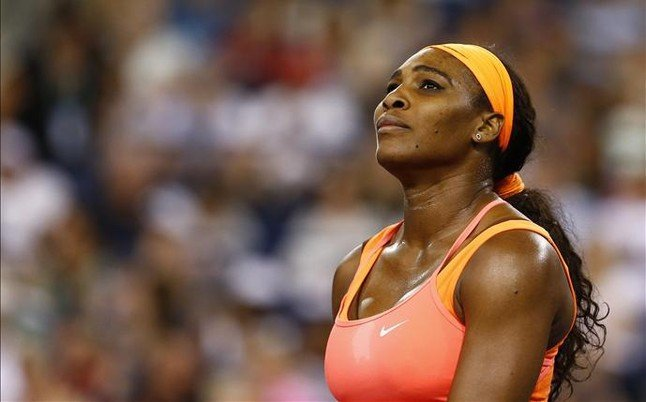 Serena Williams se despidió de Indian Wells por lesión.
