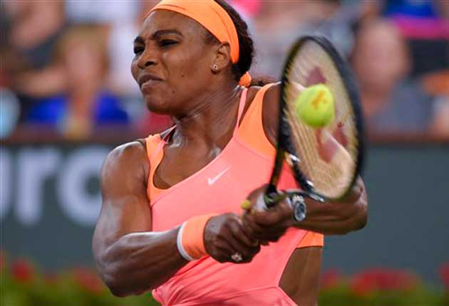 Serena Williams continúa firme en el Masters 1000 de Indian Wells.