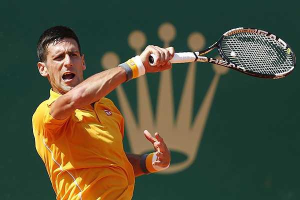 Djokovic fue sólido y efectivo en su primer examen de Monte-Carlo.