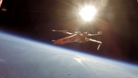 Star Wars: Astrónomos vuelan nave de la Alianza en estratosfera [VIDEO]