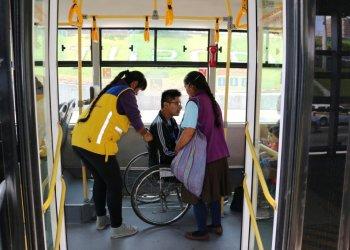 Metropolitano: Optimizan atención a personas con discapacidad