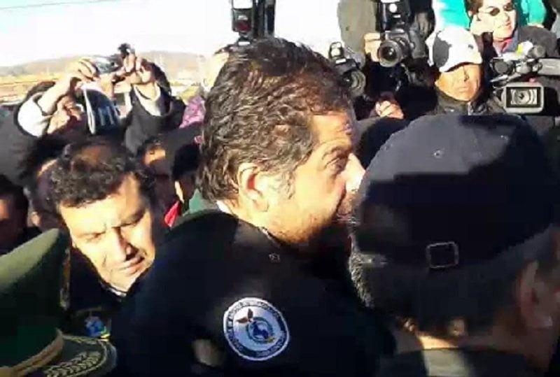 Así fue la entrega de Martín Belaunde a las autoridades peruanas [VIDEO]