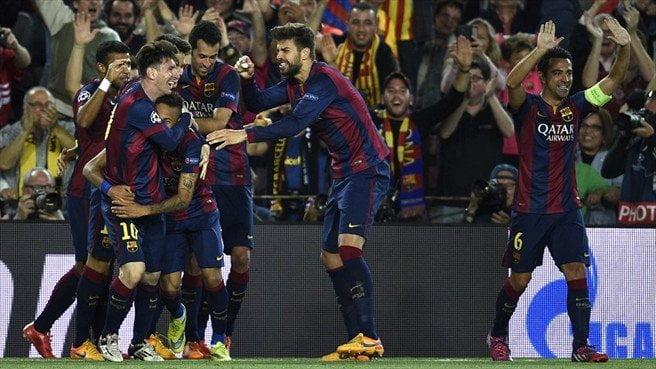 Barcelona es favorito para llegar a la final de la Champions League.