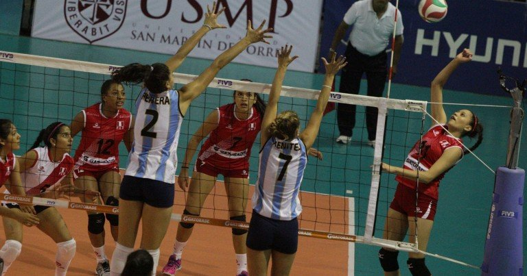 La selección patria sub 18 no pudo contra las chicas argentinas.